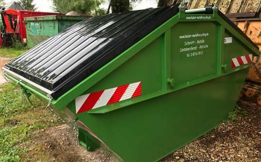 Container mieten für Schrott und Altmetall