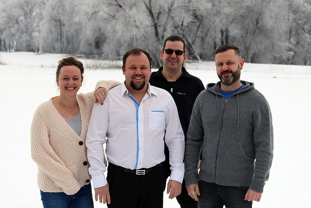 Das Team der Huber Recycling GmbH