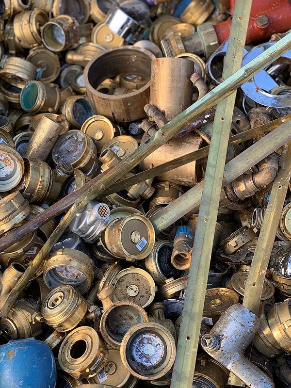 Metallrecycling der Firma Huber GmbH