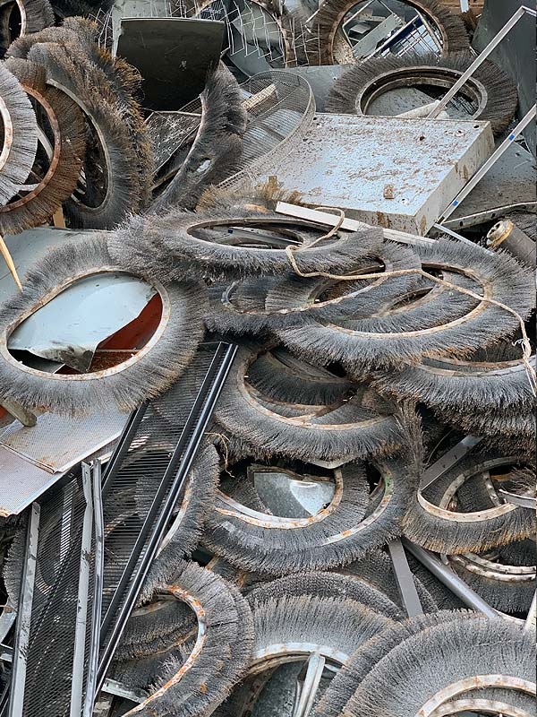 Mischschrott der Firma Huber Recycling GmbH
