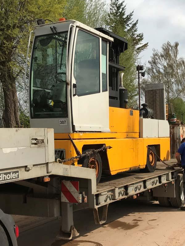 Transporte der Firma Huber GmbH